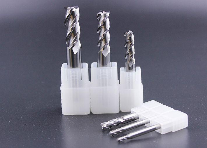 2pcs CNC Milling Cutter Aluminum Use three Blade Tungsten Steel Milling Cutter Three-edge Milling-tool Hard Alloy Mill Tool #Affiliate