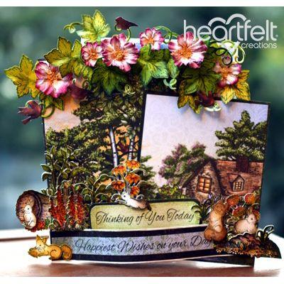 Heartfelt Creations - Woodland Scene Card Project