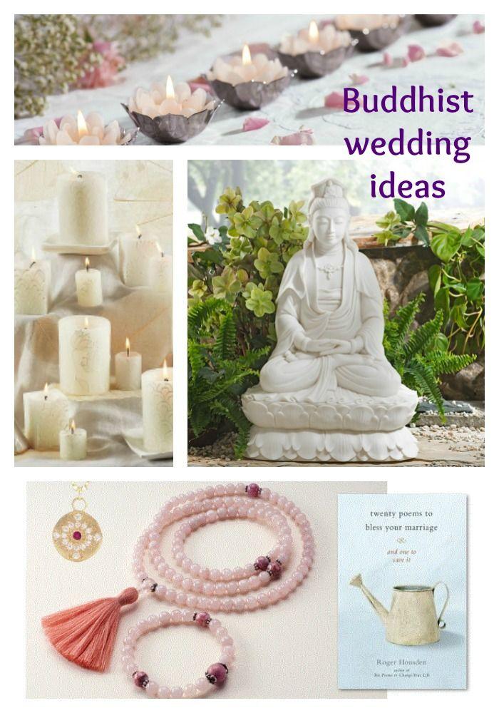 Buddhist wedding ideas from dharmacrafts.com