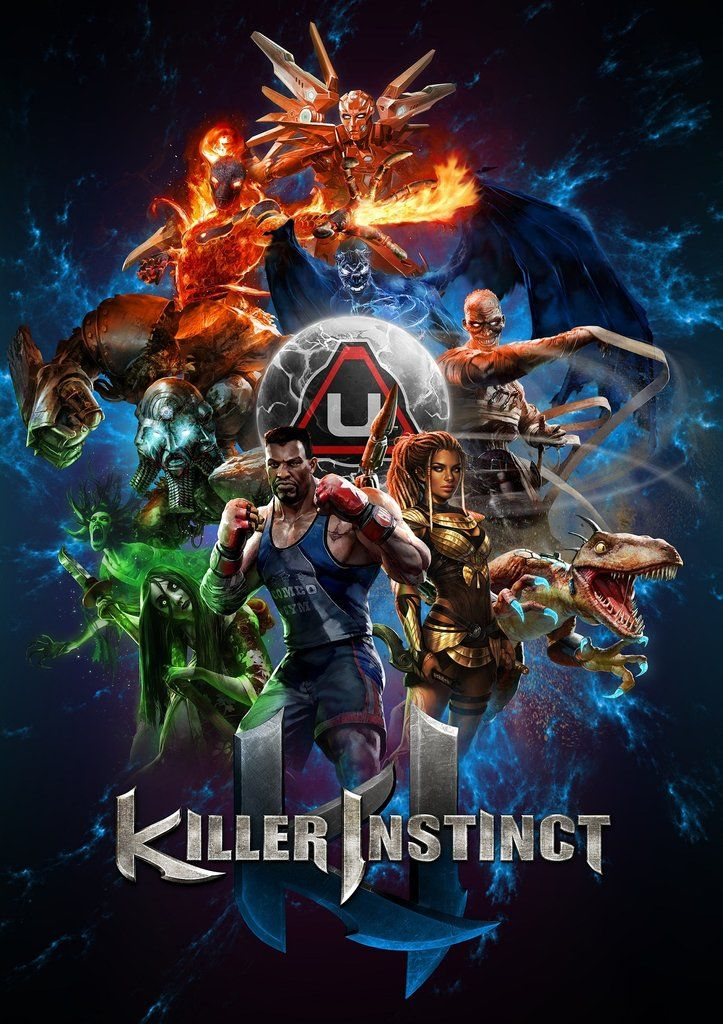 Killer Instinct Poster | g shyt | Classic video games, Video