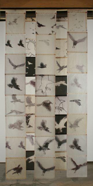 Kyugee IV - Bird Screen | Catherine Eaton Skinner