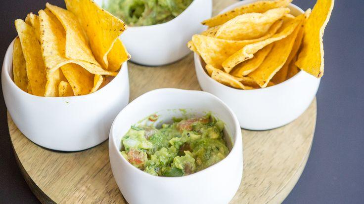 Mijn Pop-uprestaurant 2016: guacamole met nacho's van Willem en Miette | VTM Koken