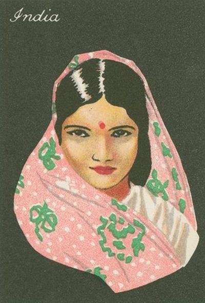 Vintage Indian poster