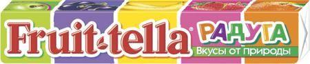 Fruittella «Радуга» 41 г  — 39р. ------------------------------- Жевательная конфета Fruittella Радуга 41 г. Пять фруктовых вкусов в одной упаковке - каждый в своем природном цвете! Fruittella – это вкусно, весело и полезно! При производстве Fruittella используются только натуральные красители, полученные из растений и фруктов. Ассорти жевательных конфет со вкусами: яблока, черной смородины, клубники, апельсина и банана, содержащих натуральные соки и красители. Особенности:  Натуральные…