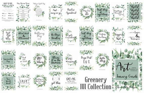 Ivf Ivf Journey Ivf Milestone Cards Ivf Journal Milestone Cards
