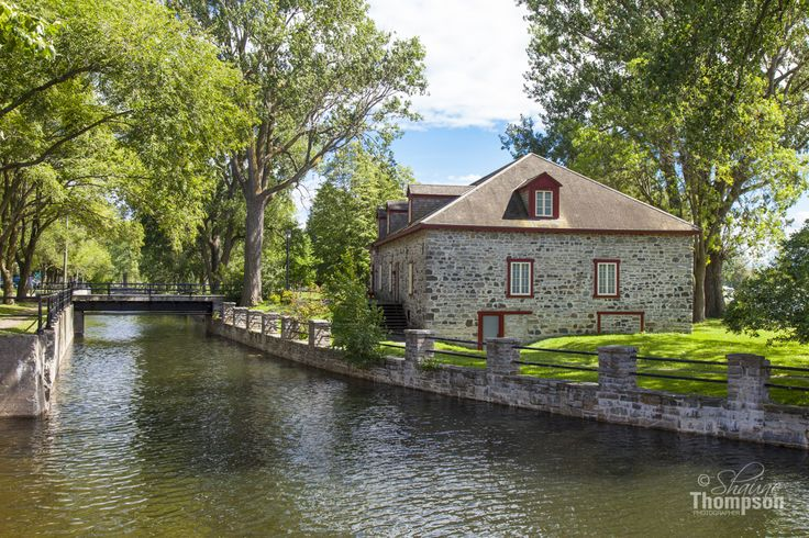 The Fur Trade Building is a National Historical Site of Canada, is located on the Lachine Canal which is part of Parks Canada.