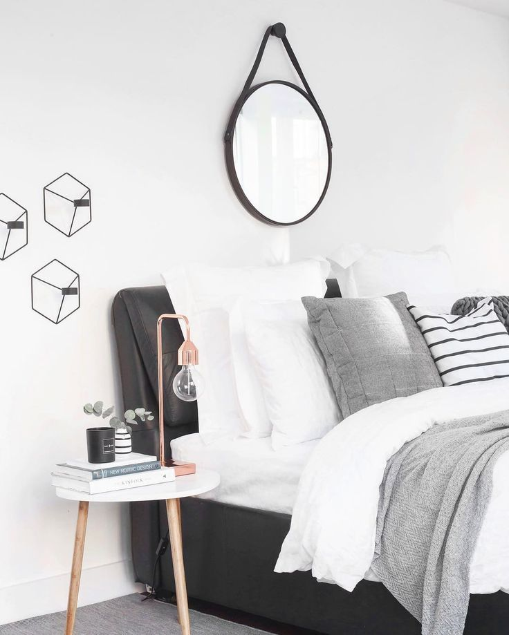 My nordic & scandinavian inspired bedroom.