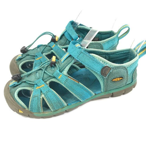 6137ba67bd8f Keen Girls Sport Sandals Newport Turquoise Blue Size 13 Youth Waterproof  Hiking  KEEN  WaterShoes  Outdoors