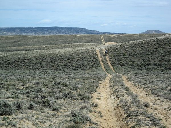 wagon ruts On The Oregon Trail