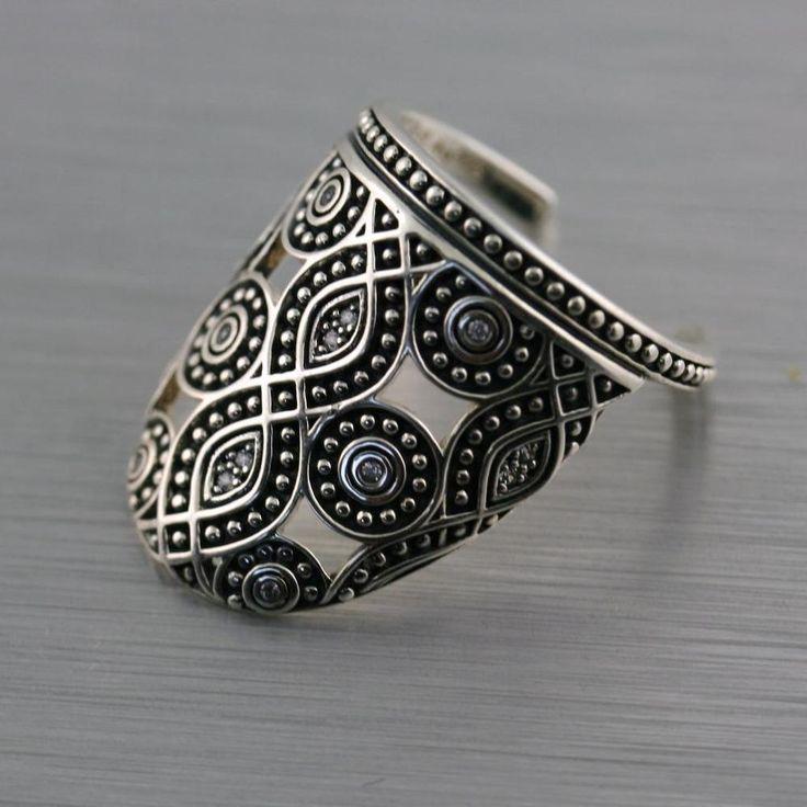 Genuine Thomas Sabo Sterling Silver Ethno Nail Ring   eBay