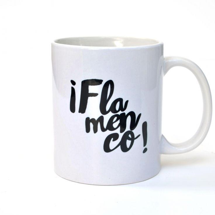 Taza Flamenco ¡Flamenco!