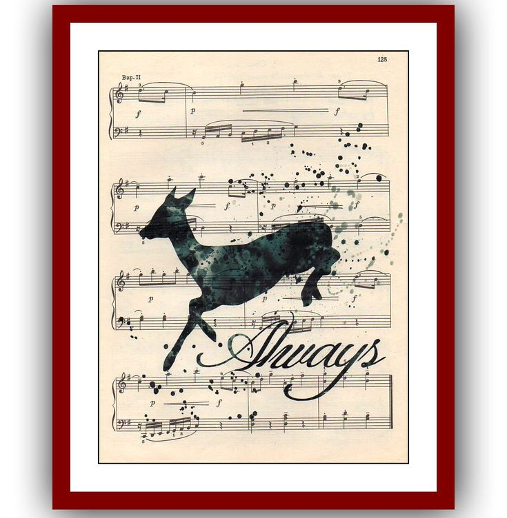 Snape's Patronus Severus Snape Poster Harry Poster 41  Wall Illustrations Art Print 8x10  Wall Decor Book Page Art  Upcycled Dictionary by Gardarica on Etsy https://www.etsy.com/listing/464274981/snapes-patronus-severus-snape-poster