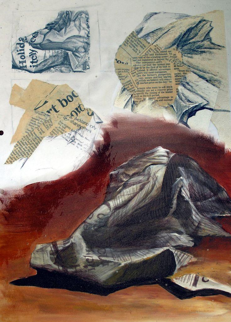 GCSE-art-sketchbook-ideas