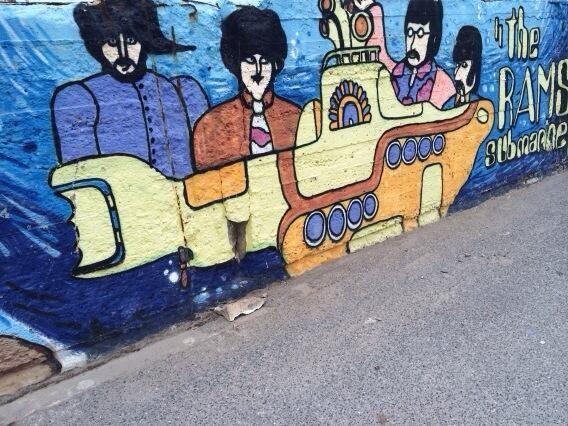 Mural Vallecrosia Beach  ..... pic.twitter.com/drxkKEGICm