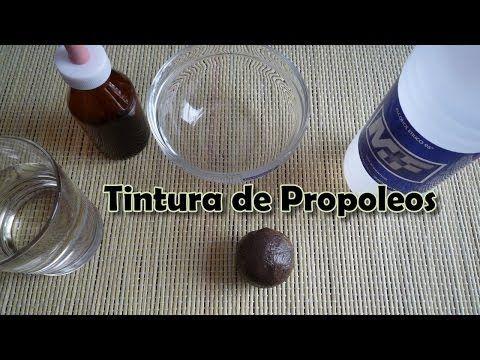 Como preparar TINTURA de Propoleos o Própolis casera - YouTube