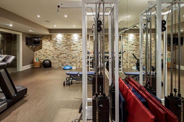 63 Ideen Zum Heim-Fitnessstudio Planen Und Einrichten | Keller