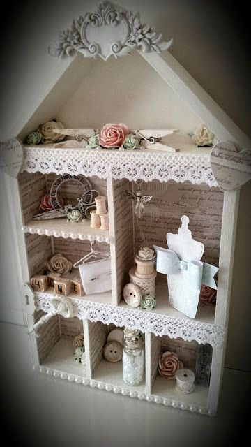 Creative Happiness: Shabby chic House