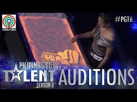 البوز في المملكة المتحدة : Pilipinas Got Talent 2018 Auditions: Bianca Gaviola - Sand Art