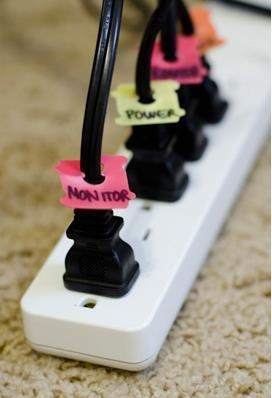 10 household objects = simple organizing tools: Bread Clip, Bread Tags, Good Ideas, Organization, Cord Label, Bread Ties, Bag Tag