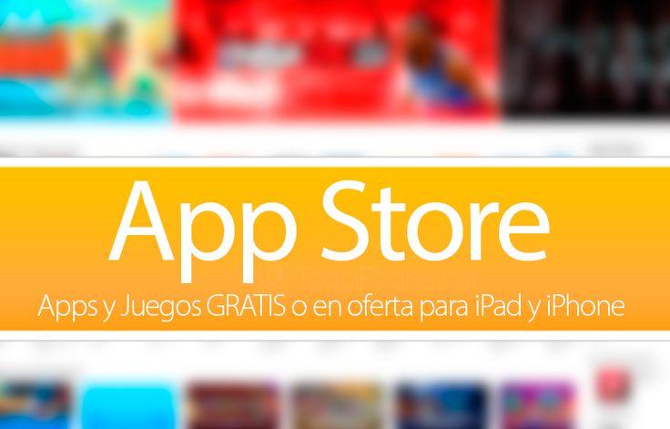 Sabías que Apps y Juegos GRATIS o en oferta para iPhone y iPad (17/08/15)