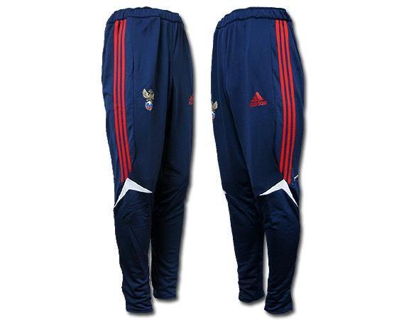 Футбольные тренировочные зауженные штаны adidas