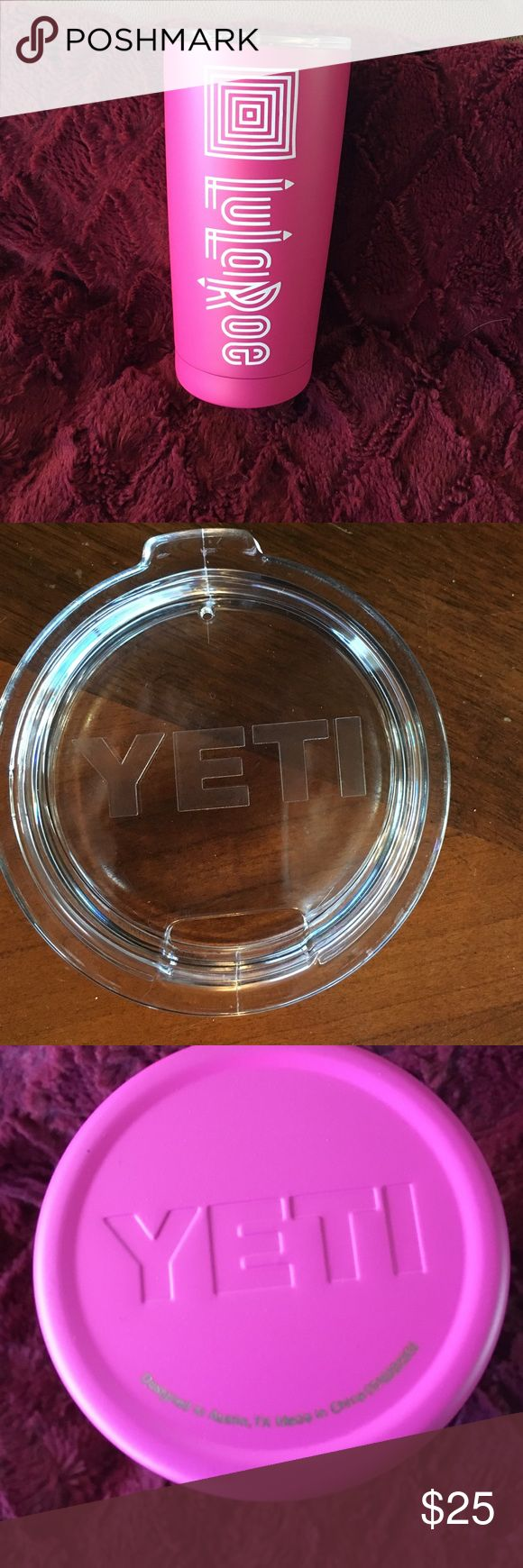 LuLaRoe Yeti cup. Brand new Brand new. Was going to be a consultant. My loss your gain YETI Accessories
