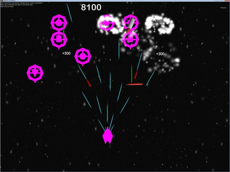MYO: Space shooter game, powered with Myo gadget.