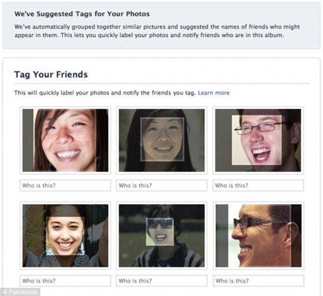 Facebook could add its one billion users' profile pictures to photo database - meaning users have no control over social network recognizing them in photos: FB PEOPLE ARE BEING ASSIMILATED!