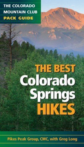 The Best Colorado Springs Hikes (Colorado Mountain Club Pack Guides) by Pikes Peak Group of the Colorado Mountai. $10.36. Publication: June 1, 2009. Series - Colorado Mountain Club Pack Guides. Publisher: Mountaineers Books; 1 edition (June 1, 2009)