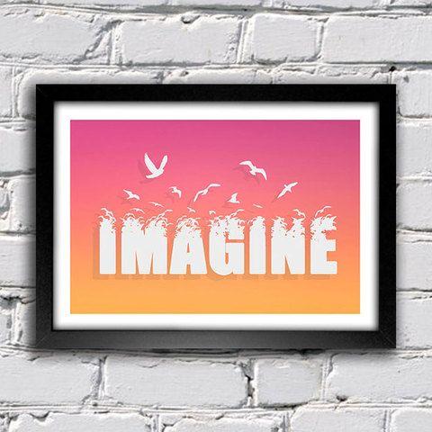 Poster Imagine - comprar online