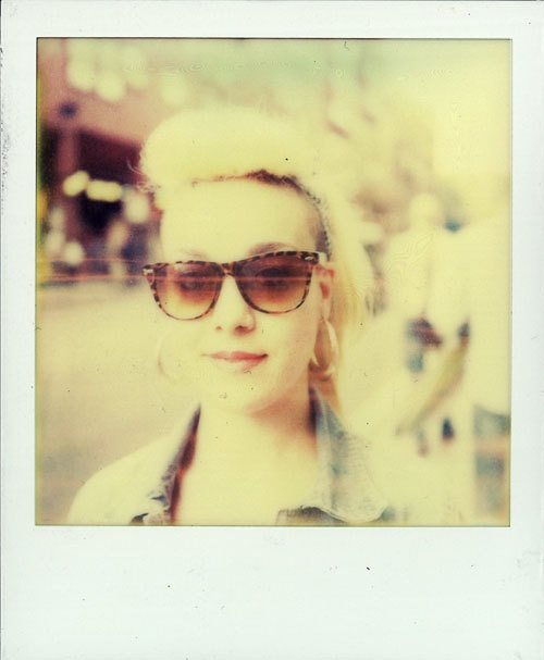 POLAROID SX 70 by Francesco Basile, via Behance