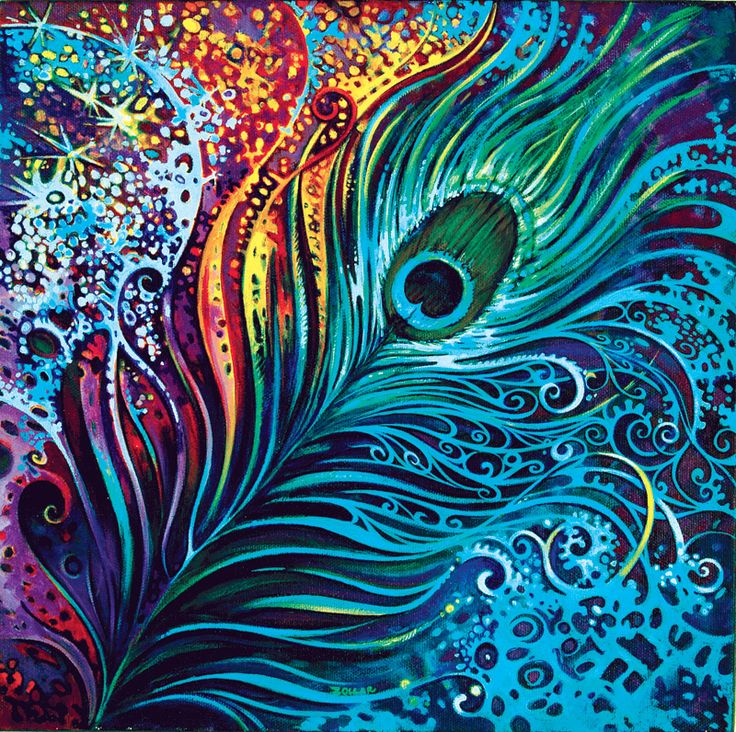 25 best ideas about peacock painting on pinterest for Painting feathers on canvas