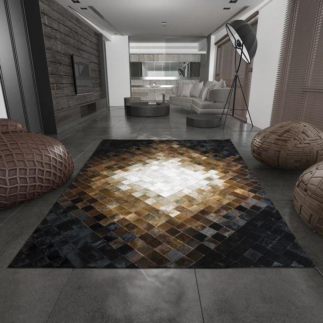 les 25 meilleures id es concernant d cor en peau de vache. Black Bedroom Furniture Sets. Home Design Ideas