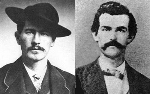 Wyatt Earp, And Doc Holliday!!                                                                                                                                                                                 More