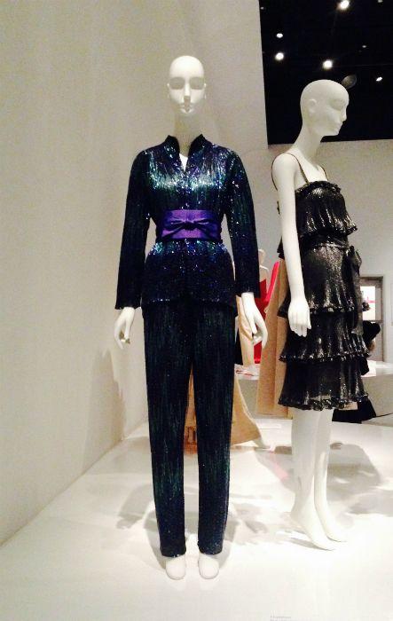 Yves Saint Laurent + Halston, Fashioning the 70's, FIT Museum