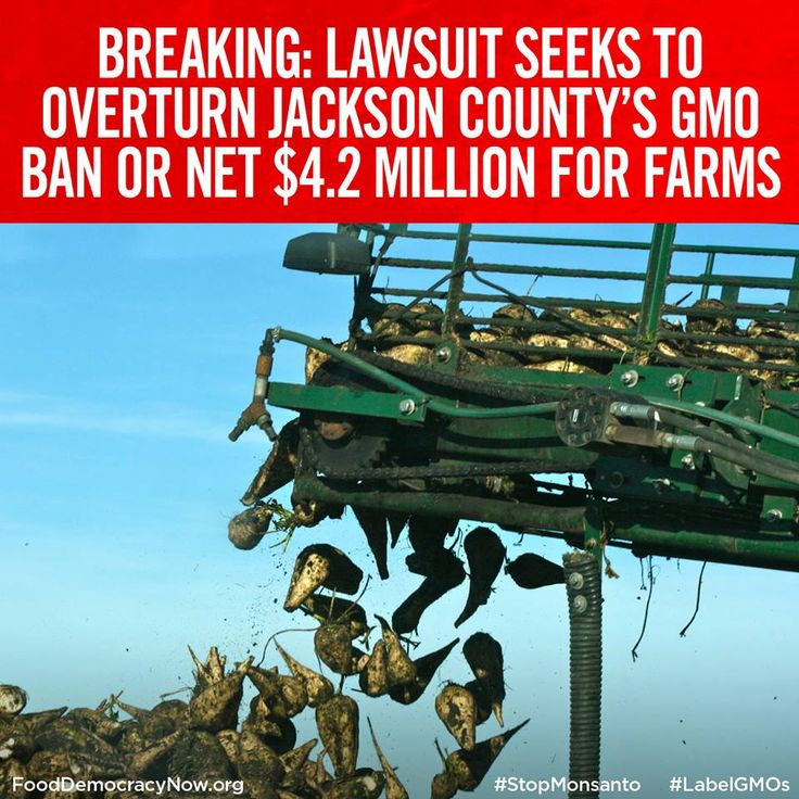BREAKING NEWS: Two Jackson County farms that grow Roundup Ready alfalfa have filed a lawsuit asking a state court to end the county's voter-approved ban on genetically modified crops or force the county to pay them $4.2 million, which they claim is the value of the crop they would have to destroy. More here: http://www.mailtribune.com/article/20141118/NEWS/141119622 #Roundup #stopMonsanto #banGMOs