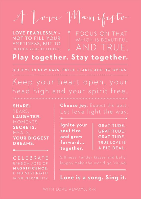 A Love Manifesto: Love I, Joy Growing Forward, Words Of Wisdom, New Marriage Quotes, Fresh Start, Dreams Choo Joy Growing, Full Plays, Spaces In Marriage, Manifesto Lov