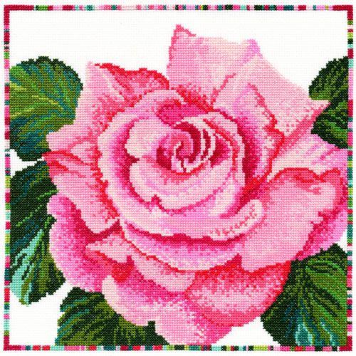 Rose Cross Stitch Kit