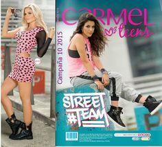 Carmel Teens Catalogo de Campaña 10 2015. Ropa juvenil de moda actual