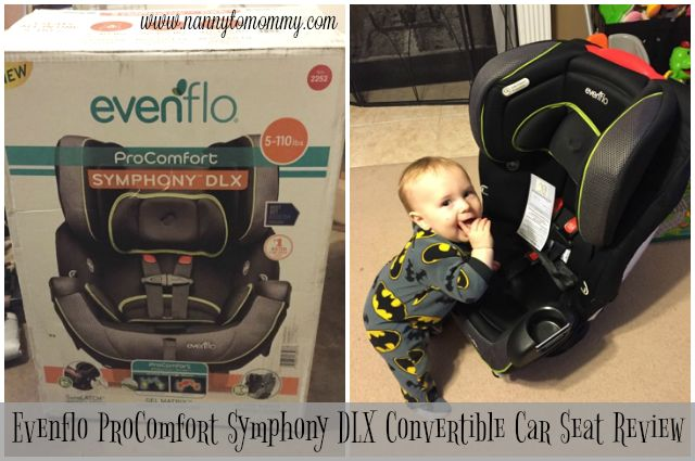 evenflo procomfort symphony dlx convertible car seat review ultimate baby must haves. Black Bedroom Furniture Sets. Home Design Ideas