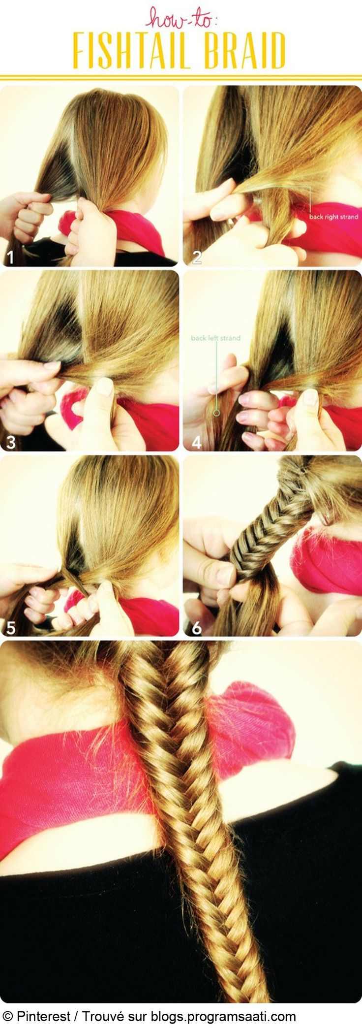Tuto tresse épi fishtail braid