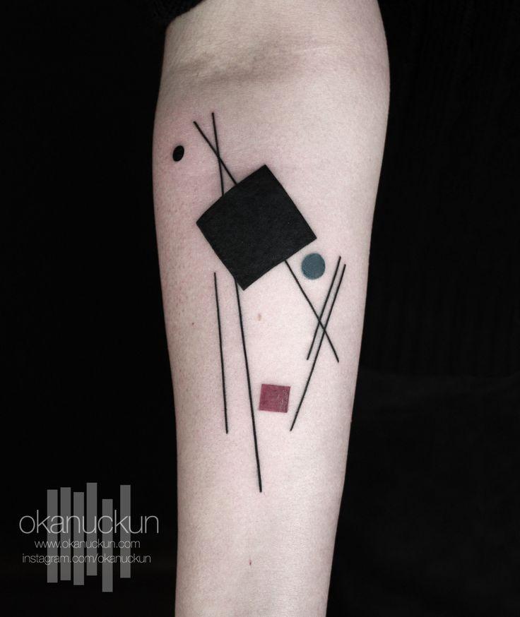 Baum Design als Tattoo