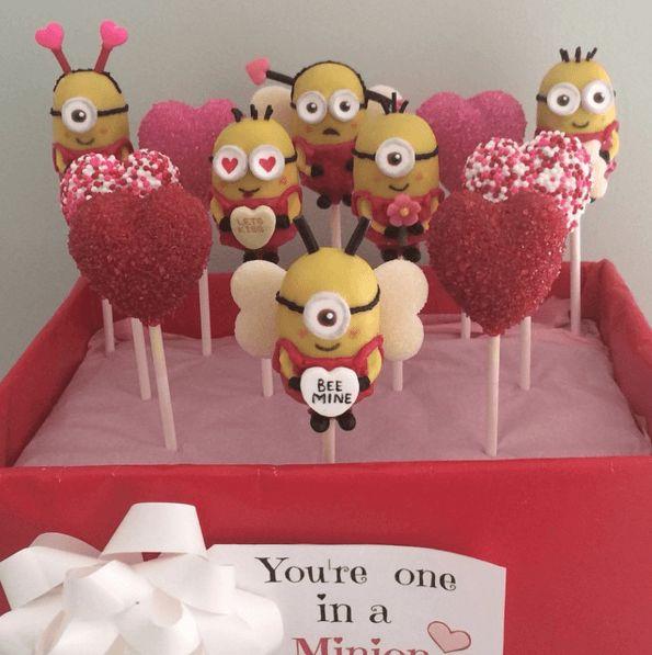 Valentine Cake Pops