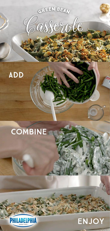 how to cook make green bean casserole