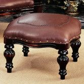 Found it at Wayfair - Victorian Rococo Ottoman