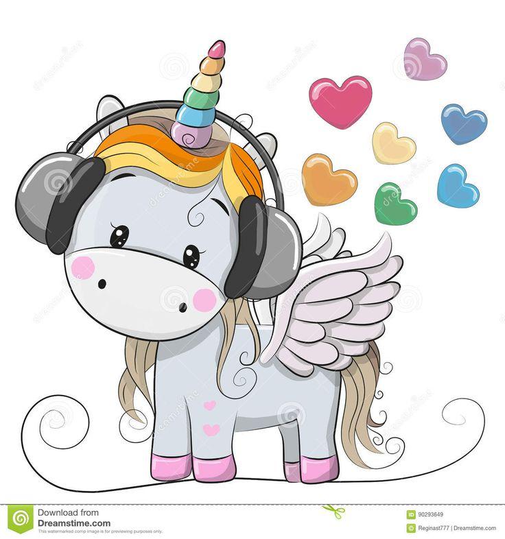 Resultado de imagen para unicornio desenho