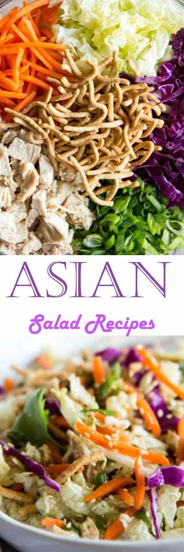 Asian Salad Recipes