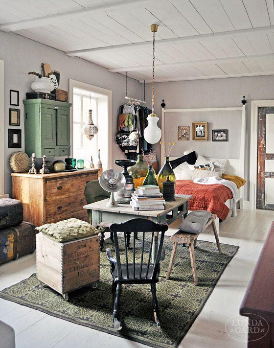 LUNDAG Na RD | meble, rodzina, budynek, życia na wsi, vintage, koloru i formy