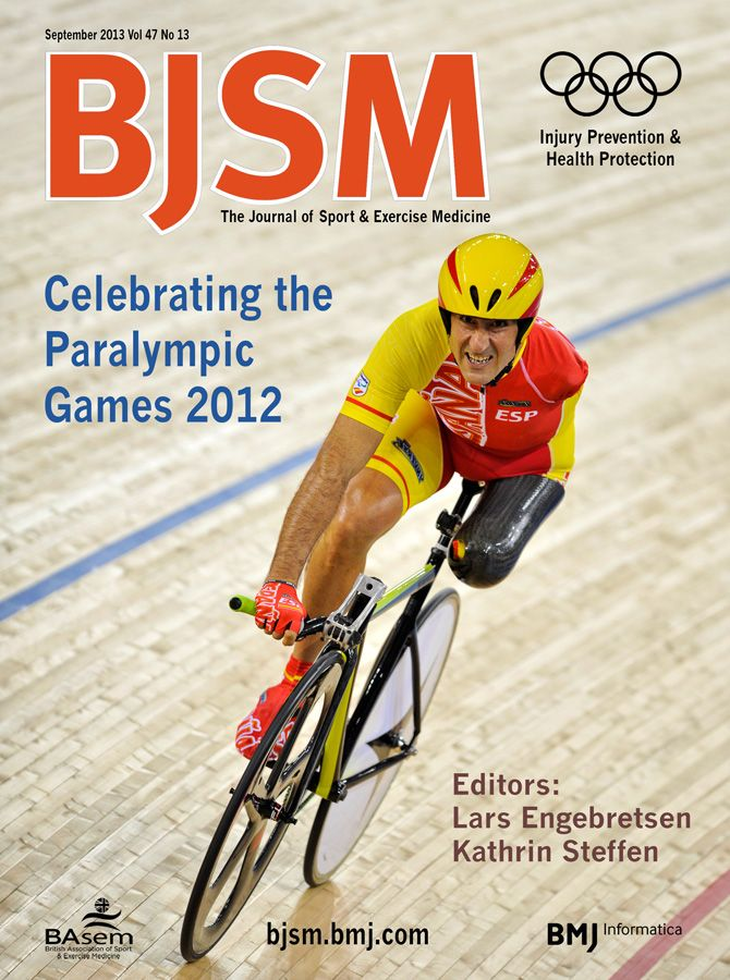 BJSM Volume 47 Issue 13 | September 2013 ~ Celebrating the Paralympic Games 2012.