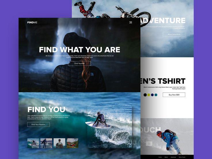 FindMe Website Template